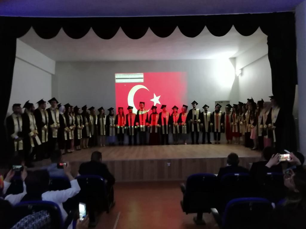 Yüksekokulumuzda Mezuniyet Töreni Düzenlendi