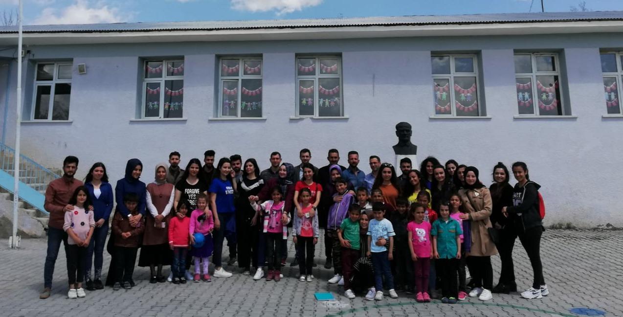 Yüksekokulumuzdan Harmantepe İlkokuluna Ziyaret